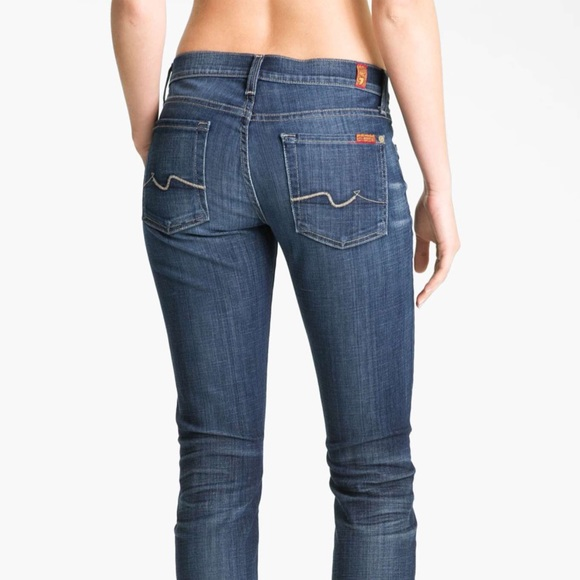 7 For All Mankind Denim - SEVEN FOR ALL MANKIND Roxanne Straight Leg Jeans 362358785
